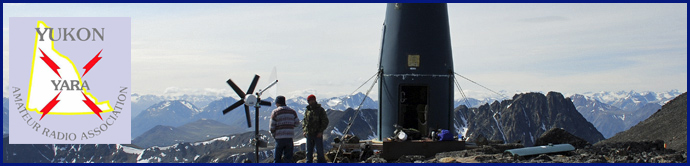 Yukon Amateur Radio Association (YARA) header